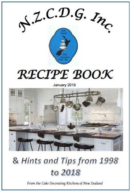 NZCDG Inc Recipe Book & Hints and Tips from 1998 to 2018