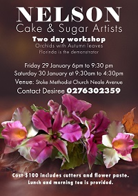Nelson Orchid Workshop