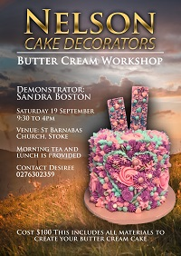 Nelson Buttercream Workshop